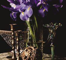 Iris & Brass by Rachel Slepekis