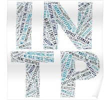 INTP Word Cloud Poster