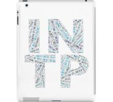 INTP Word Cloud iPad Case/Skin