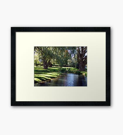The Willows of Grand Pre Framed Print