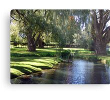 The Willows of Grand Pre Metal Print