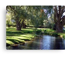 The Willows of Grand Pre Canvas Print