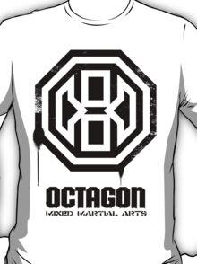 Octagon MMA Spray Logo (Black) T-Shirt