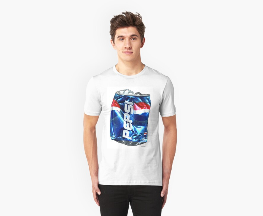 Pepsi, Crushed Pop Art by Dick  Iacovello