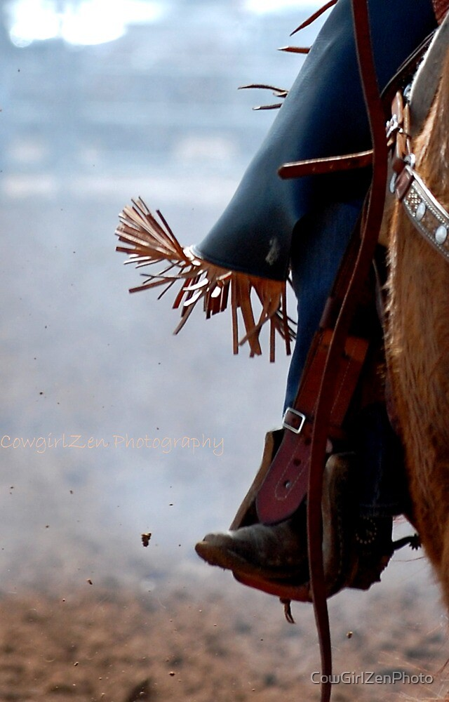 So Close to the Fringe by CowGirlZenPhoto