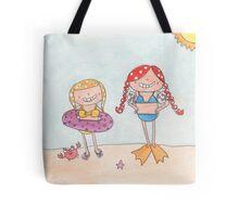 June - Year of Sisters - Watercolor Tote Bag