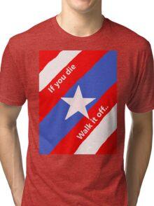 Walk it off Tri-blend T-Shirt