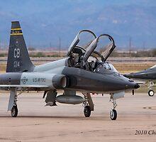 Northrop T-38 Talon by Chris Heising