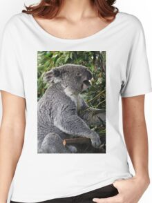 Koala At Lunchtime Women's Relaxed Fit T-Shirt