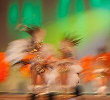 Carnival dancers - Argentina by Kent DuFault