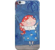 July - Year of Sisters - Watercolor iPhone Case/Skin