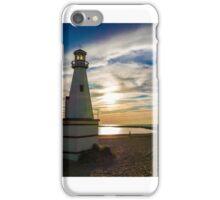 Lake Michigan Lighthouse  iPhone Case/Skin