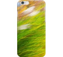 Fall Grass Abstract iPhone Case/Skin