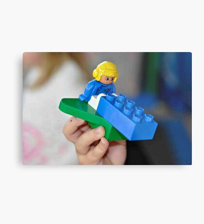 Lego Metal Print