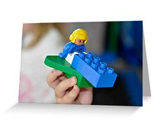 Lego Greeting Card