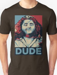 DUDE, It's Hurley Reyes from the TV show LOST T-Shirt
