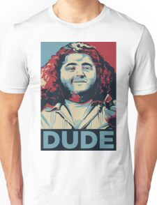 DUDE, It's Hurley Reyes from the TV show LOST Unisex T-Shirt