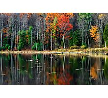 Autumn Reflection Landscape Photographic Print