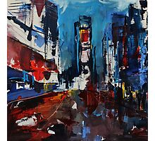 Times Square by Night Photographic Print