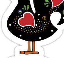 Portugal and Rooster Sticker
