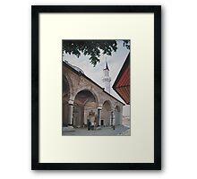 Gazi Husrev Beg's Mosque in Sarajevo,Bosnia  Framed Print