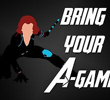 Black Widow - Bring Your A-Game by alannamode