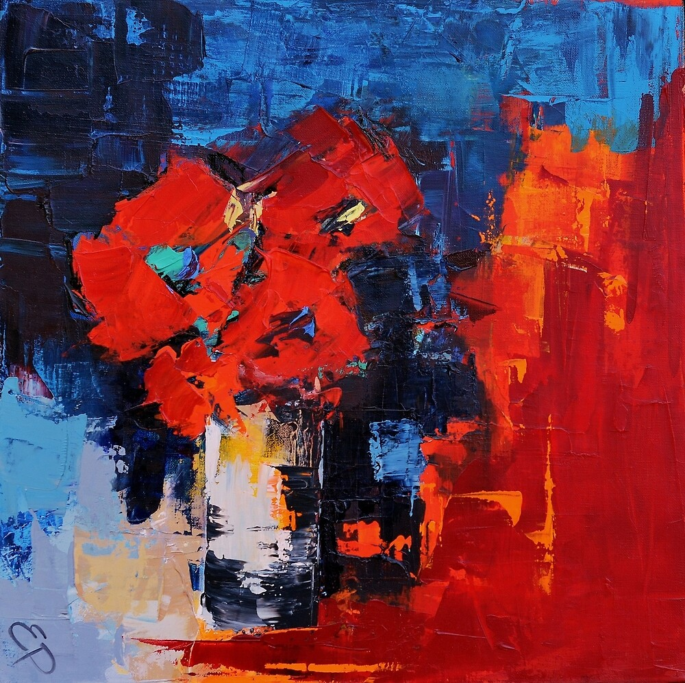 Red Passion by Elise Palmigiani