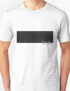 Forenzics - Static and Silence Strip T-Shirt