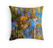 Safari Abstract Throw Pillow