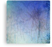 Blossom blue Canvas Print