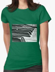 Forgotten Keys Womens Fitted T-Shirt