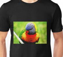 Rainbow Lorikeet #2 Unisex T-Shirt