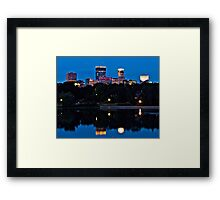 Minneapolis Reflection Framed Print