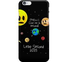 Leap Second 2015 iPhone Case/Skin