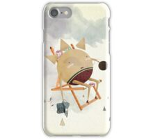 Sunbathing iPhone Case/Skin