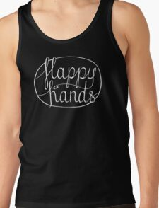 FLAPPY HANDS are HAPPY HANDS - White T-Shirt