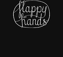FLAPPY HANDS are HAPPY HANDS - White Tank Top