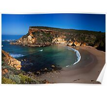 The beach at Childers Cove, Great Ocean Road, Victoria, Australia Poster
