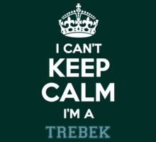 I can't keep calm I'm a TREBEK by Neilbry