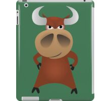 Serious strong bull iPad Case/Skin