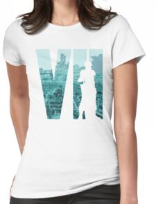 Cloud is back in color Womens Fitted T-Shirt