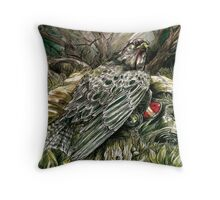 The Pilot's Fate Throw Pillow
