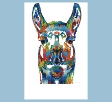 Colorful Llama Art - The Prince - By Sharon Cummings Kids Clothes