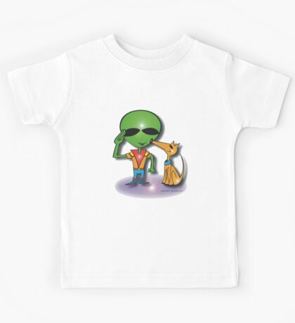 salute the captain eto Kids Tee