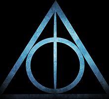 Deathly Hallows: Blue Magic by Serdd
