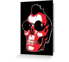 Mohawk Skull - Rock'n'Roll Greeting Card