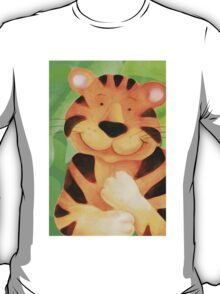Whimsical tiger painting T-Shirt