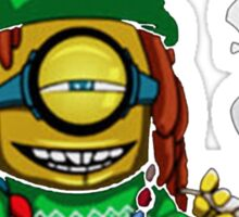 Rasta Minion Sticker