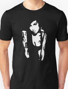 Stencil Amy Winehouse New style T-Shirt