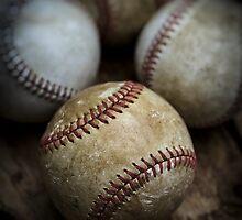 Old Baseball by Edward Fielding